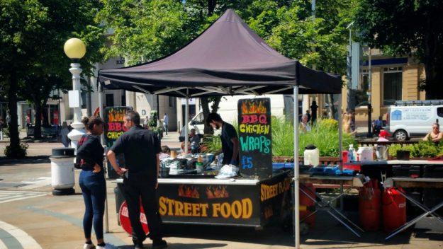 Southport Chilli Fiesta Food Stall