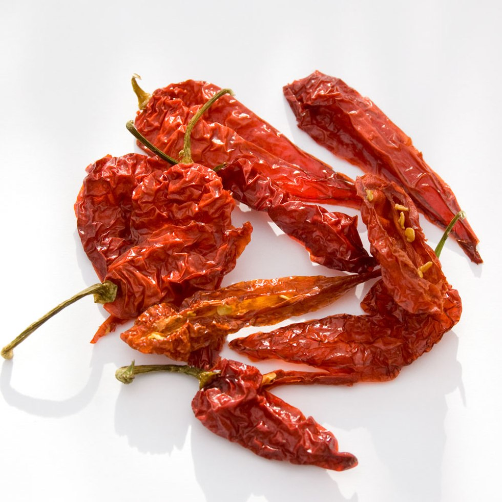 Super Hot Smoked Ghost Chilli Dried Chilli Pods