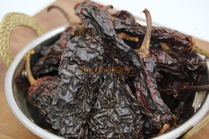 Smoked Chipotle Dried Chillies at The Chilli Guy Farm