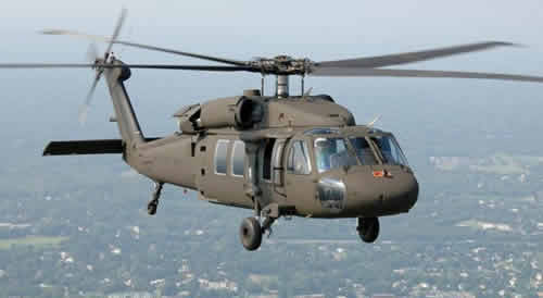 The First 4 Black Hawk Helicopters to be Delivered to Taipei in 2013