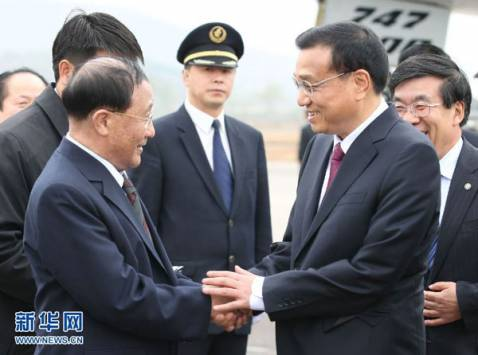 Chinese Vice Premier arrives in North Korea