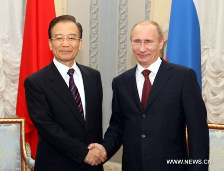 Meeting between Chinese premier and Russian counterpart reached consensus on major issues