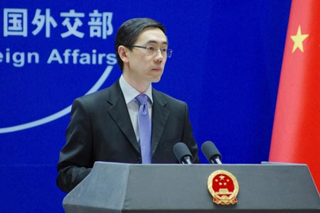 China supports mediation efforts of Arab League in Syria