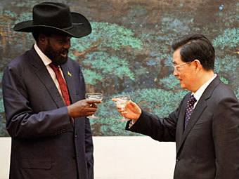 China to provide eight billion dollars to Southern Sudan