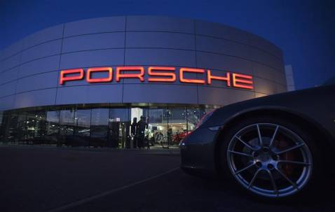 China became the biggest market of Porsche in sales