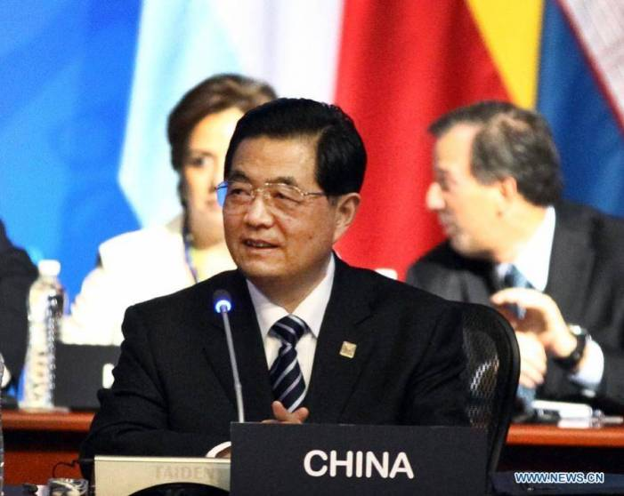 President Hu attends G20 summit in Los Cabos