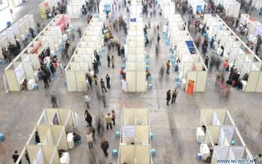 Job fair held in SW China's Chongqing