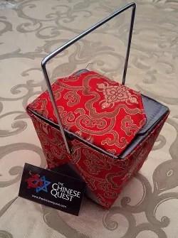 Chinese food Take-Out Box Handbag
