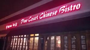 Pine Court Chinese Bistro Restaurant Little Neck