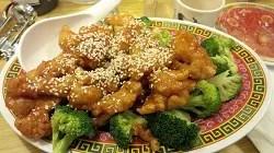 White Meat Sesame Chicken