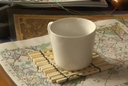 Chopsticks coaster