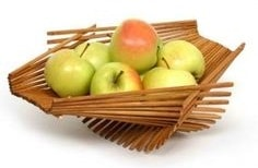 Chopsticks fruit basket