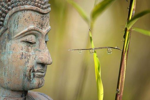 large buddha garden statue for feng shui