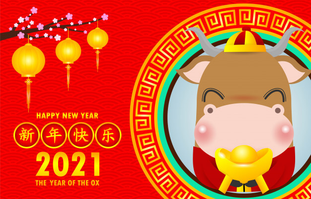 Chinese Horoscope 2021 - Year of the Metal Ox ...