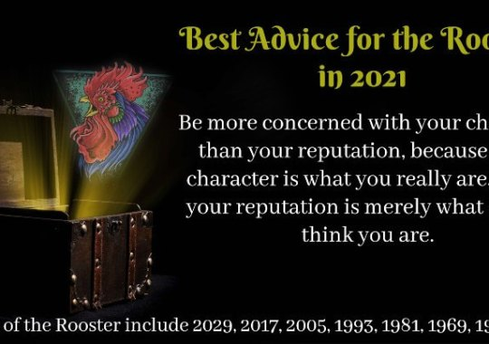 Year of the Rooster –  2021 Horoscope & Feng Shui Forecast