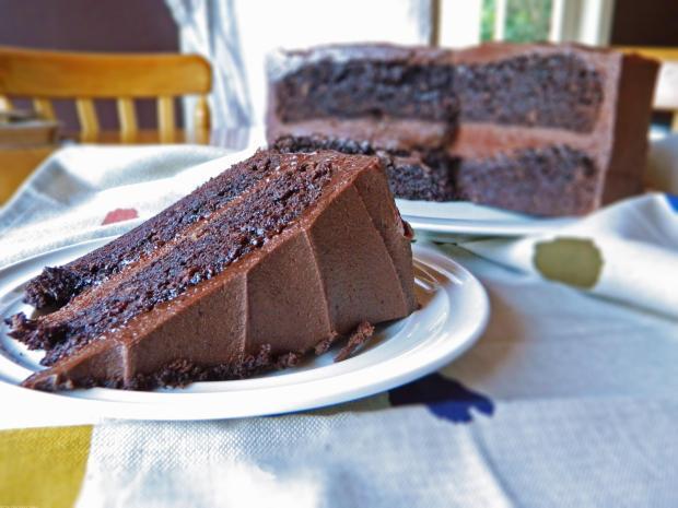 Chocolate Bailey's Cake