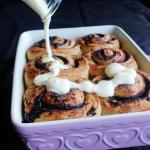 Ultimate Cinnamon Rolls - These cinnamon rolls are an explosion of warm and gooey cinnamon goodness encased in a soft and fluffy roll that is stuffed with chocolate - ultimate decadence!