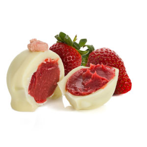Strawberry Sphere - Chocolate of the Month_