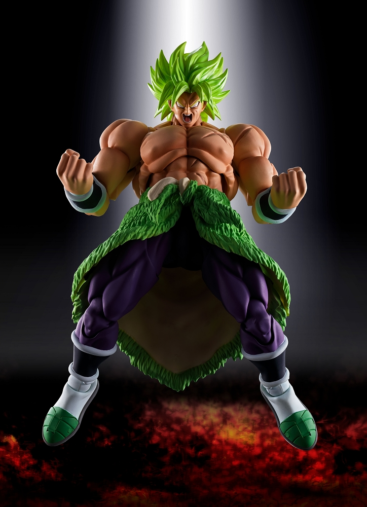 SH Figuarts Dragon Ball Super  SUPER SAIYAN BROLY FULL POWER