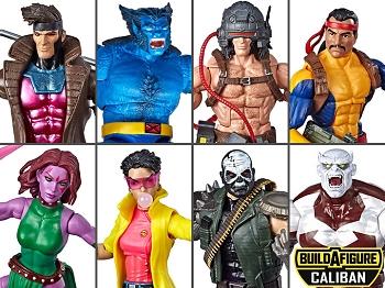 Marvel Legends X-Men Wave 4 BAF Caliban (Set of 7)