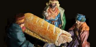 Greggs depicts Jesus as a sausage
