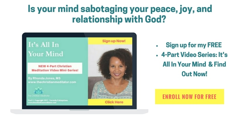 christian meditation for beginners free course