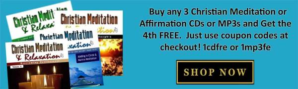 the christian meditator store