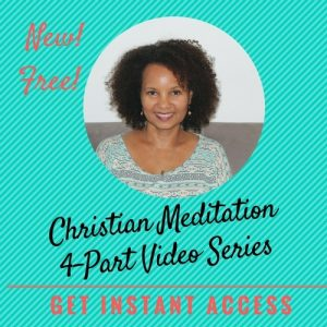 christian meditation video series