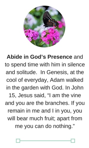 a date with god abide in christ