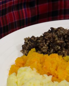 Haggis, neeps and tatties ( image used Creative Commons license)