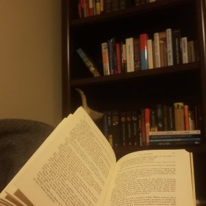I love sitting down and finding the time to actually read. Take an hour or two and really find out something new.