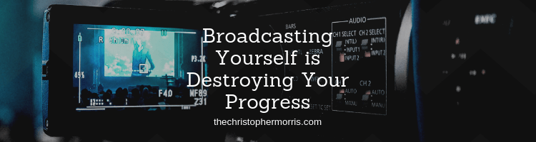 Broadcasting yourself is where you tell half-truthes to others to deceive them. But this is actually hindering your growth and maturity. Here's how.