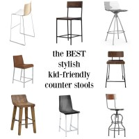 The Counter Stools Search - The Best Stylish, Kid-Friendly ...
