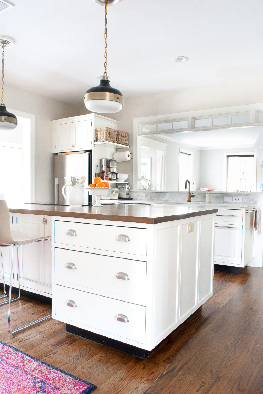 kitchen trim how to replace cabinets add detail a plain island the chronicles of home or for custom look