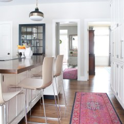 Rugs For Kitchen Wall Mounted Cabinets Vintage Style And Why I Didn T Go Actual Get The Look Of A Vibrant Rug In Without Price Tag