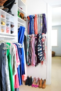Scarf Hanger {Closet Organization Ideas} - The Chronicles ...