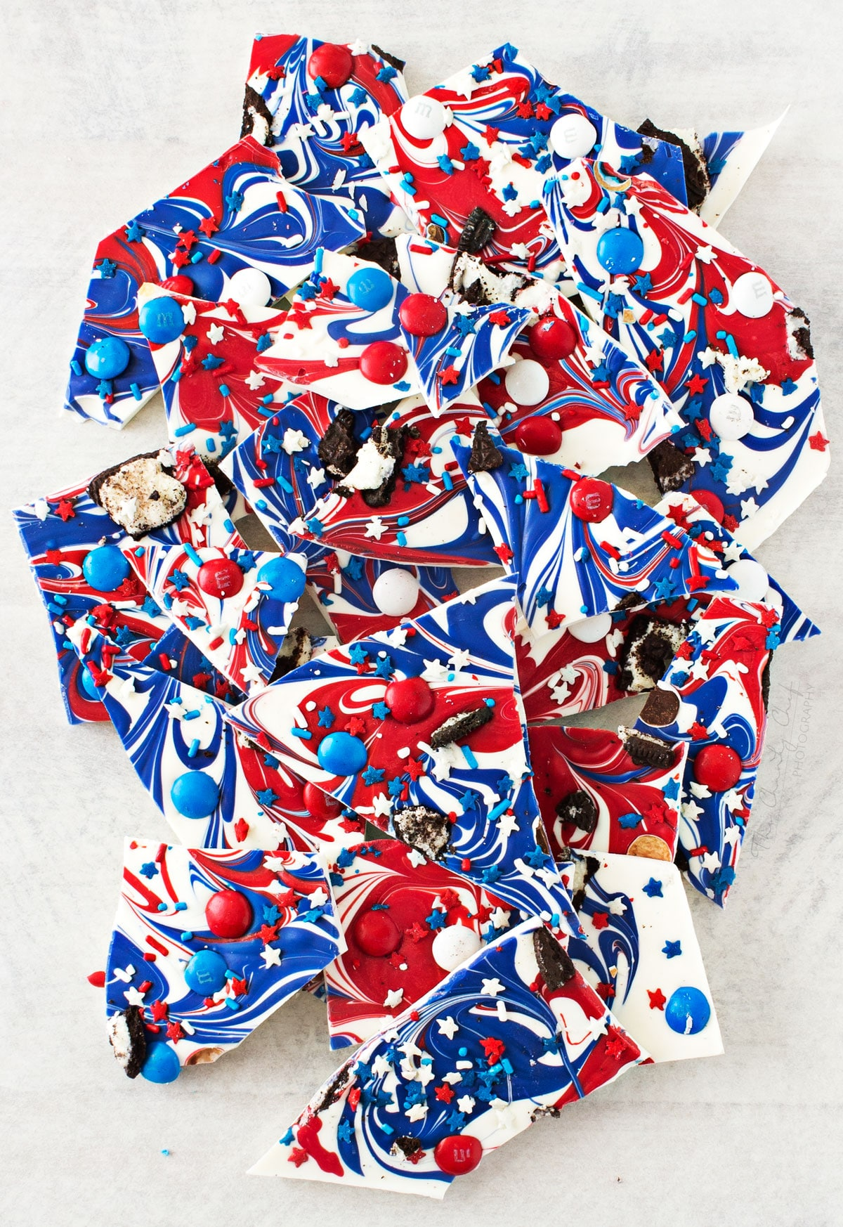 Red White and Blue Bark  The Chunky Chef