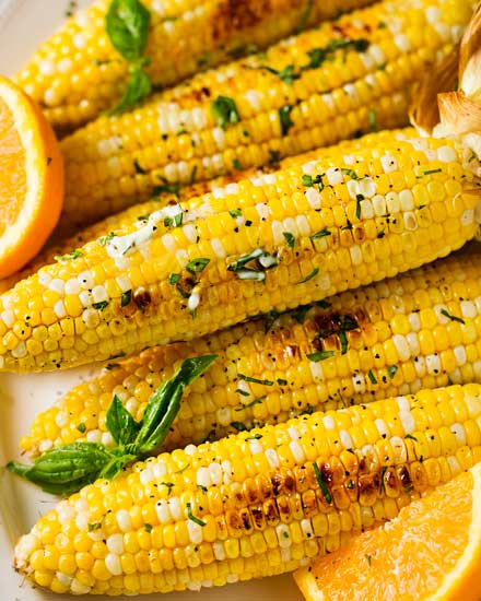 fail proof roasted corn
