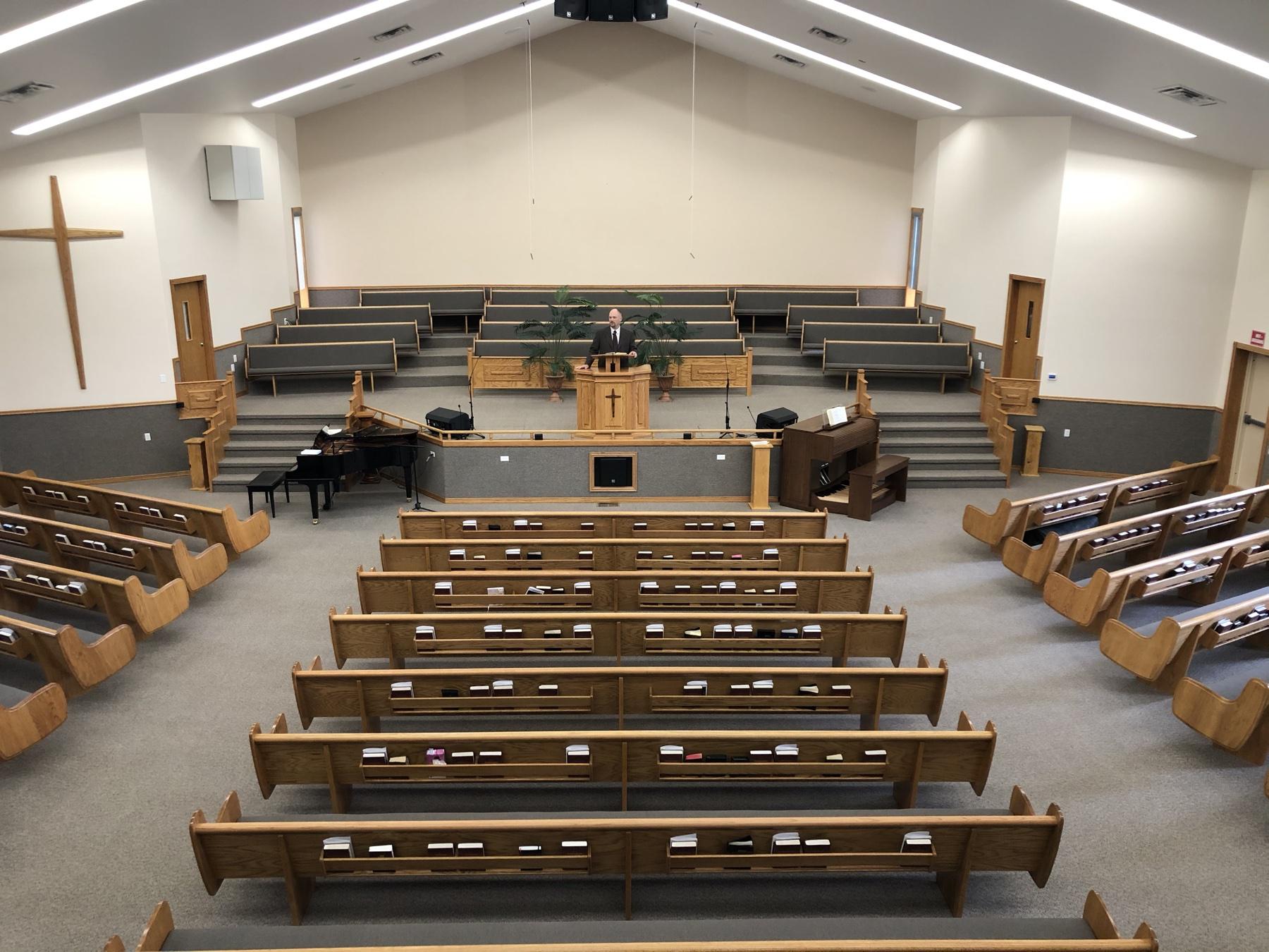 Predigt in einer leeren Kirche 1
