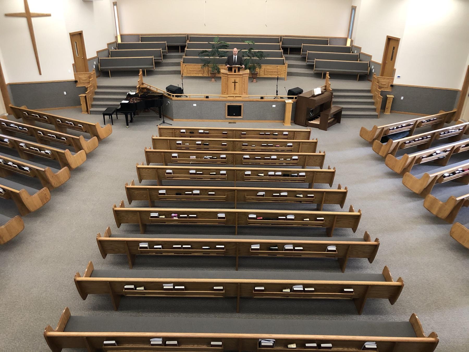 Predigt in einer leeren Kirche 3