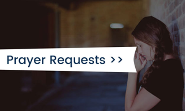 Send Your Prayer Requests