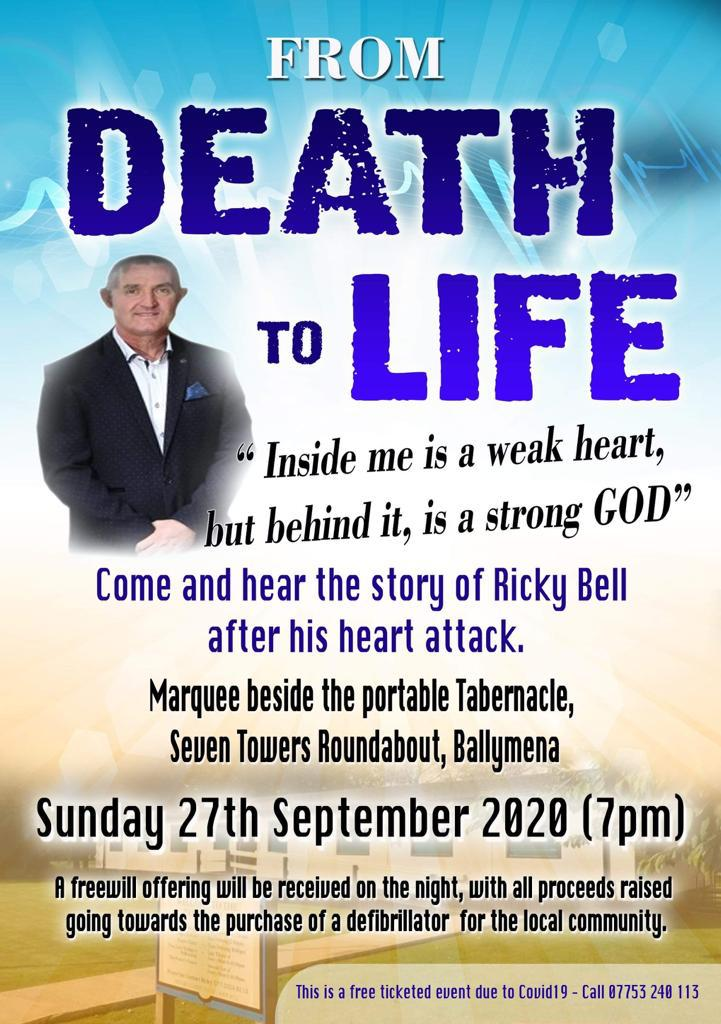 'From Death to Life' – The Richard Bell story