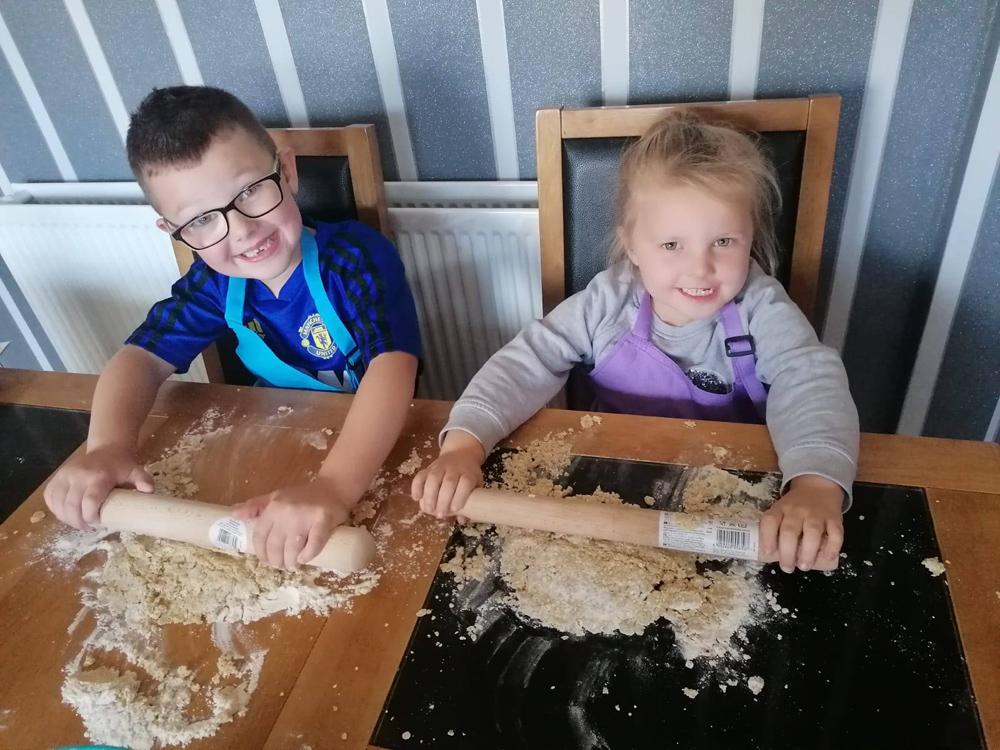Baking Buddies Bake Off on the Lower Shankill, Belfast