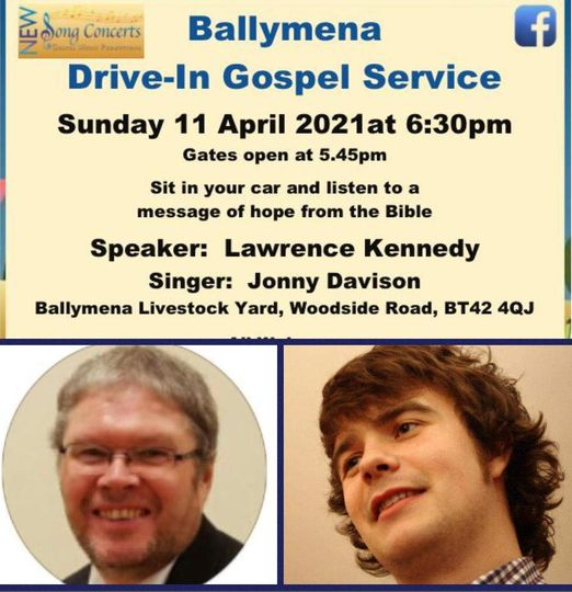 Drive-In Church from New Song Concerts – Sunday 11th April 2021