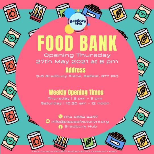 Place of Victory for All Nations launch Foodbank initiative