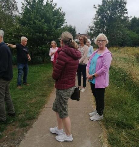 Ballymena Church Members Forum enjoy walk around Broughshane