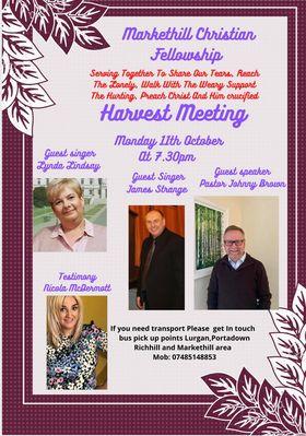 Markethill Christian Fellowship Harvest Meeting