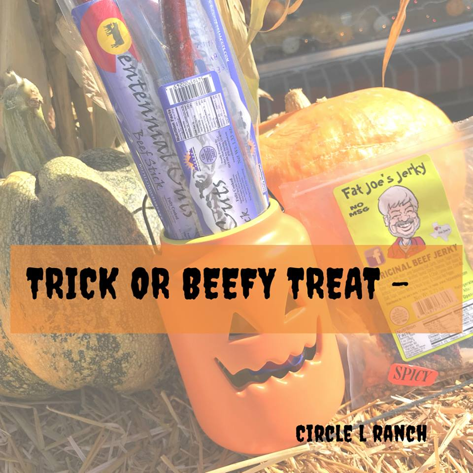 Trick Or Beefy Treat