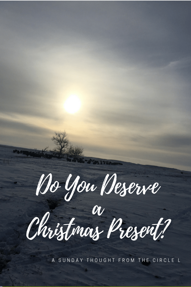 Do You Deserve A Christmas Present?