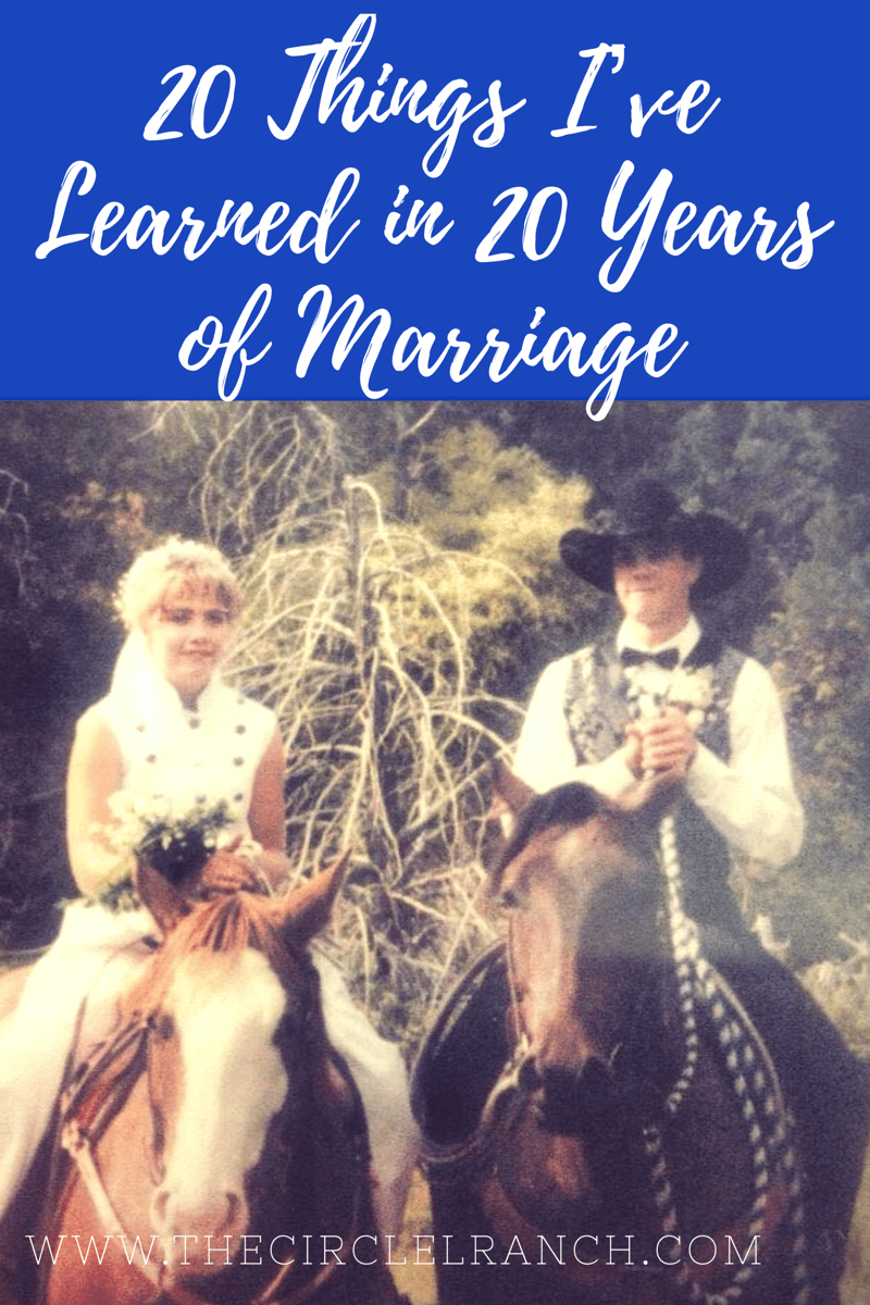 20 Things I've Learned In 20 Years Of Marriage